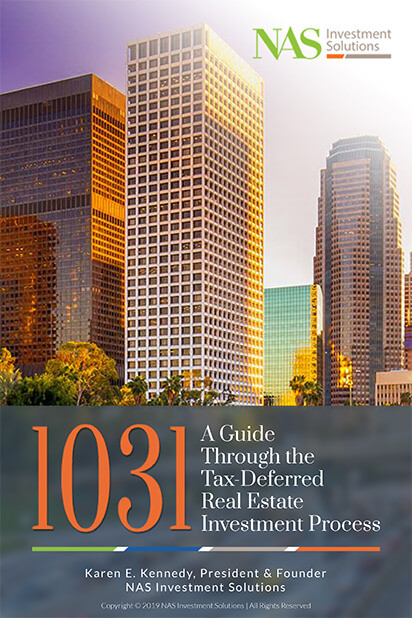 Download Free 28-Page Booklet - 1031: A Guide Through the Tax Deferred Real Estate Investment Process.