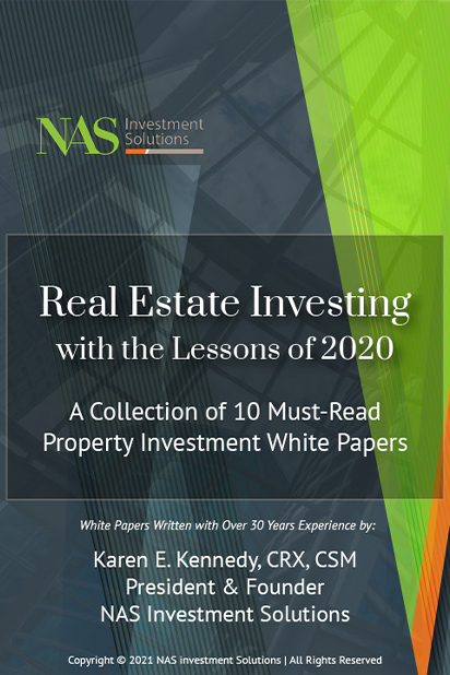 Free 36-Page Booklet Real Estate Investing with the Lessons of 2020: A Collection of 10 timely Articles.